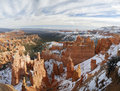 Rock Formations Of Bryce Canyon In Winter Stock Photos - 7368333