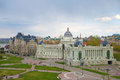 Palace Of Agriculture (Ministry Of Agriculture), Cloudy Spring Day. Kazan, Tatarstan Royalty Free Stock Image - 73603496