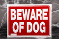 Beware Of Dog Royalty Free Stock Images - 73614219