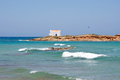 Landscape Of A White Church On The Rocks At Malia Beach, Crete, Greece Royalty Free Stock Photography - 73630607