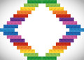 Lego Icon. Abstract Frame Figure. Vector Graphic Stock Photography - 73635372