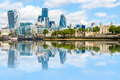 Financial District Of London Stock Image - 73645711
