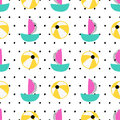 Seamless Summer Pattern Stock Photo - 73645720