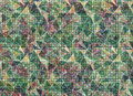 Abstract Drawn Colorful Background. Artistic Wallpaper In Green, Blue Colors. Stock Photo - 73659680