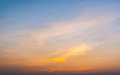 Twilight Sky With Colorful Sunset And Clouds Royalty Free Stock Photos - 73668198