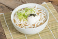 Udon Noodles With Onsen Egg. Royalty Free Stock Photos - 73676018