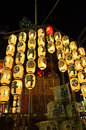 Lanterns Of Gion Festival Night, Kyoto Japan. Stock Image - 73686391