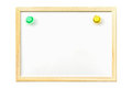 White Board With Magnetic Stock Photo - 73687050