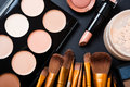 Professional Makeup Brushes And Tools, Make-up Products Set Stock Image - 73725201