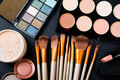 Professional Makeup Brushes And Tools, Make-up Products Set Stock Photo - 73725360