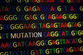 MUTATION In DNA Sequence Royalty Free Stock Images - 73728969