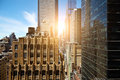 View Of Skyscrapers In Manhattan, New York City Stock Image - 73751521