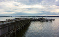 An Old Pier In Florida Stock Image - 73787471
