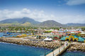Port Zante In Basseterre Town, St. Kitts And Nevis Royalty Free Stock Images - 73799479