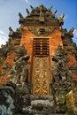 Traditional Architecture Of Bali Royalty Free Stock Photography - 7380897