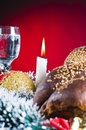 Holiday Table Setting Stock Photography - 7384082