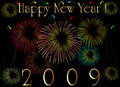2009 New Year Card Royalty Free Stock Image - 7384416