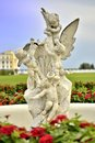 The Sculpture Of The Angels At The Arkhangelskoe Estate In Moscow. Royalty Free Stock Photo - 73828175
