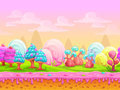 Cartoon Fantasy Candy Land Location Royalty Free Stock Images - 73847449