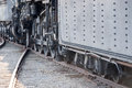 Old Steam Engine Iron Train Detail Close Up Royalty Free Stock Photo - 73866915