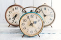 Vintage Background - Rarity Alarm Clock. Time Concept. Royalty Free Stock Photo - 73867495