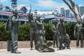 Portion Of The Bob Hope Memorial At San Diego Harbor Royalty Free Stock Image - 73877856