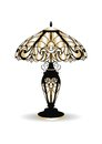 Golden Vintage Baroque Classic Decorated Lamp Stock Photo - 73892450
