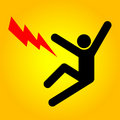 High Voltage Sign Stock Image - 7392531
