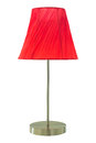 Red Table Lamp Royalty Free Stock Images - 73955769