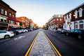 Main Street, In Downtown Concord, New Hampshire. Stock Images - 73974364