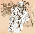 Jack The Ripper - An Hand Drawn Vector Stock Images - 73998944