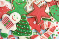 Frosted Christmas Cookies Royalty Free Stock Image - 7404036