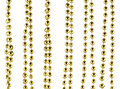 Brilliant Celebratory Beads Of Golden Color Royalty Free Stock Images - 7408779
