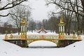 Painted The Bridge With Turrets Royalty Free Stock Photo - 74026635