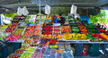 Colourful Fruit And Vegetable Market Stall Cartama Spain. Royalty Free Stock Image - 74038736