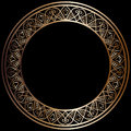 Round Bronze Frame Royalty Free Stock Images - 74047749
