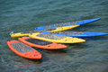 Paddle Boards In The Tropics Royalty Free Stock Images - 74060919