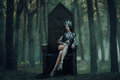 Dark Evil Queen Royalty Free Stock Photography - 74095247
