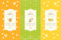 Vector Design Layouts - Natural Honey Collection Stock Image - 74115461