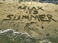 Relax Its Summer Royalty Free Stock Photo - 74135695