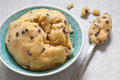Cookie Dough With Chocolate Chips Stock Images - 74155124