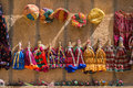 Souvenir Rajasthan Puppets Hanging In The Street Shop Stock Image - 74159921