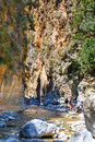 Samaria Gorge In Central Crete, Greece Stock Image - 74193231