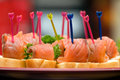 Catering - Salmon Appetizer Stock Photos - 7427313
