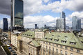 Old And New Warsaw Stock Photography - 74222402