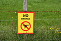 No Drones Stock Photography - 74271922