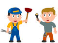 Kids And Jobs - Workers Royalty Free Stock Image - 7434216