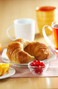French Croissant Royalty Free Stock Photography - 7435707