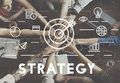 Strategy Target Mission Objective Graphics Concept Stock Photos - 74311503