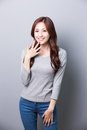 Young Woman Smile To You Stock Photography - 74321602